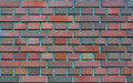 Clinker bricks background, wallpaper, texture Royalty Free Stock Photo