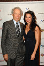 Clint Eastwood,Dina Ruiz Royalty Free Stock Photo