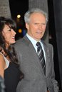 Clint Eastwood,Dina Ruiz Royalty Free Stock Image