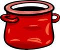 Clip art de la historieta del pote o del tarro Imágenes de archivo libres de regalías