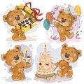 Clip Art Illustrations Of Tedd...