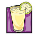 Clip art lemonade Royalty Free Stock Photography