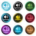 Clipart color icons volume