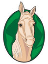Clipart do cavalo Fotos de Stock Royalty Free