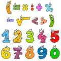 Clipart Numbers Color Stock Photography