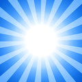 Clipart sun Royalty Free Stock Image