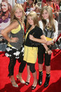 Clique girlz los angeles premiere bratz movie grove los angeles ca Stock Photography