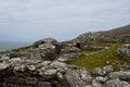 Clochan Beehive Hut Village in Ireland Royalty Free Stock Photo