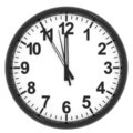 Clock. Royalty Free Stock Images