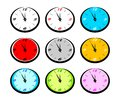 Clock collection Royalty Free Stock Photo