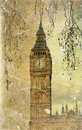 Clock face of Big Ben Royalty Free Stock Photo