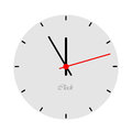 Clock face. Royalty Free Stock Photo