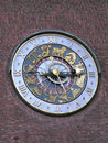 Clock Face (Norway) Royalty Free Stock Photo