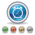clock icon Stock Images