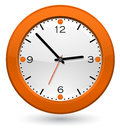 Clock icon web design element Royalty Free Stock Image
