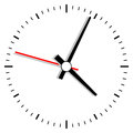 Clock illustration Stock Image