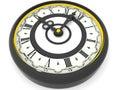 Clock. Nine o'clock. 3d