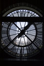 Clock at the Orsay Museum Royalty Free Stock Photo