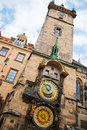 Clock Prague Czech Republic Royalty Free Stock Image
