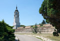 Clock Tower at Belgrade Fortress Kalemegdan Royalty Free Stock Photo