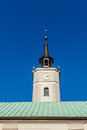 Clock tower of the historic Town Hall Royalty Free Stock Photo