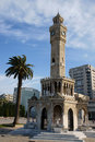 Clock tower from Izmir Stock Image