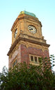 Clock tower at st kilda melbourne australia a photo of old historical Stock Photo