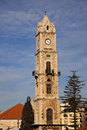 Clock Tower in Tripoli Royalty Free Stock Photo