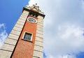 Clock tower in tsim sha tsui hong kong Royalty Free Stock Image