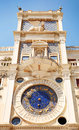 Clock Tower in Venice, Italy. Torre dell Orologio Royalty Free Stock Photo