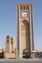 Clock Tower, Yazd, Iran, Asia