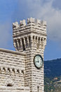 Clock Towers. Prince's Palace of Monaco Royalty Free Stock Images