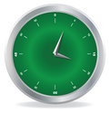 Clock vector drawing of a Royalty Free Stock Photography