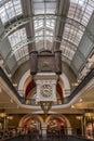 Clock work nside Victoria Shopping Mall, Sydney Australia. Royalty Free Stock Photo