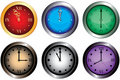Clocks Royalty Free Stock Photos