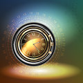 Clocks background abstract this illustration may be useful as designer work Stock Photo