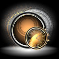 Clocks background abstract this illustration may be useful as designer work Royalty Free Stock Photos