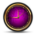 Clocks round Royalty Free Stock Photo