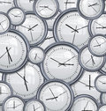 Clocks and time background Royalty Free Stock Photo
