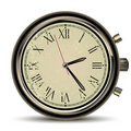 Clocks vintage Royalty Free Stock Image