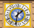 Clocktower in Capri. Royalty Free Stock Photo