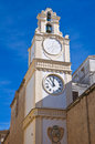 Clocktower. Gallipoli. Puglia. Italy. Royalty Free Stock Images
