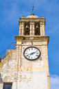 Clocktower montescaglioso basilicata italy of Stock Photography
