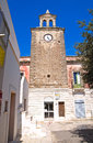 Clocktower mottola puglia italy of Stock Photos