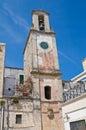 Clocktower. Otranto. Puglia. Italy. Royalty Free Stock Photo