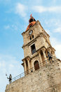 Clocktower in Rhodes (Greece) Royalty Free Stock Photos