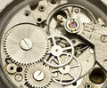 Clockwork close up Royalty Free Stock Photography