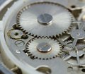 Clockwork close up Stock Photo