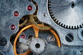 Clockwork macro Fotografia Royalty Free