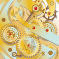 Clockworks gears Stock Photography